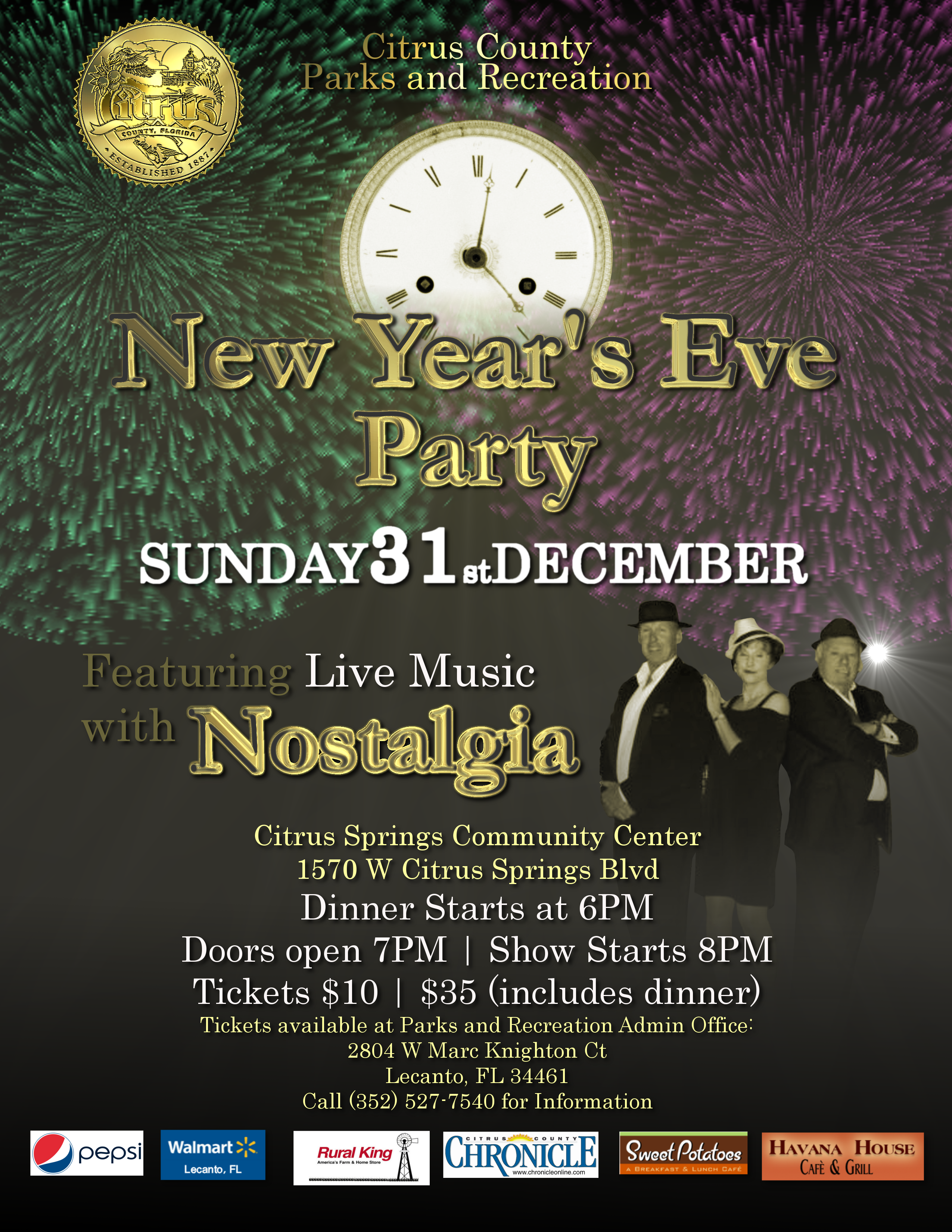 New Year\'s Eve Party | Citrus 95.3