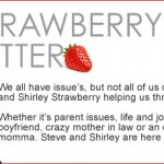 strawberry letter am i being petty