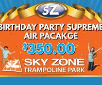 SkyZone Certificate