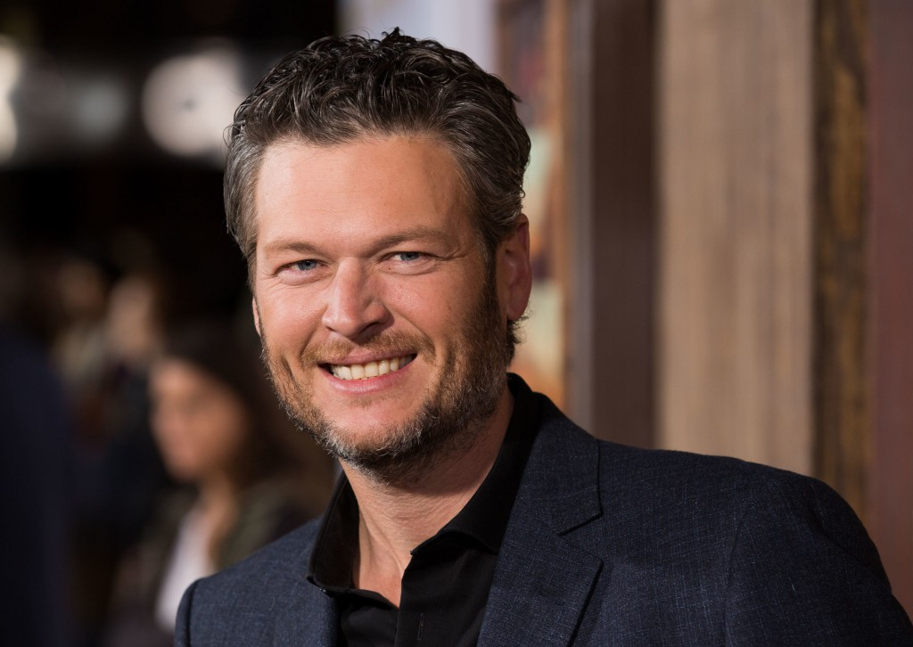 """Celebrities attend Premiere Of Netflix's """"The Ridiculous 6"""" at AMC Universal City Walk in Universal City.  Featuring: Blake Shelton Where: Los Angeles, California, United States When: 30 Nov 2015 Credit: Brian To/WENN.com"""