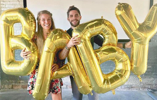 Thomas Rhett baby announce 630