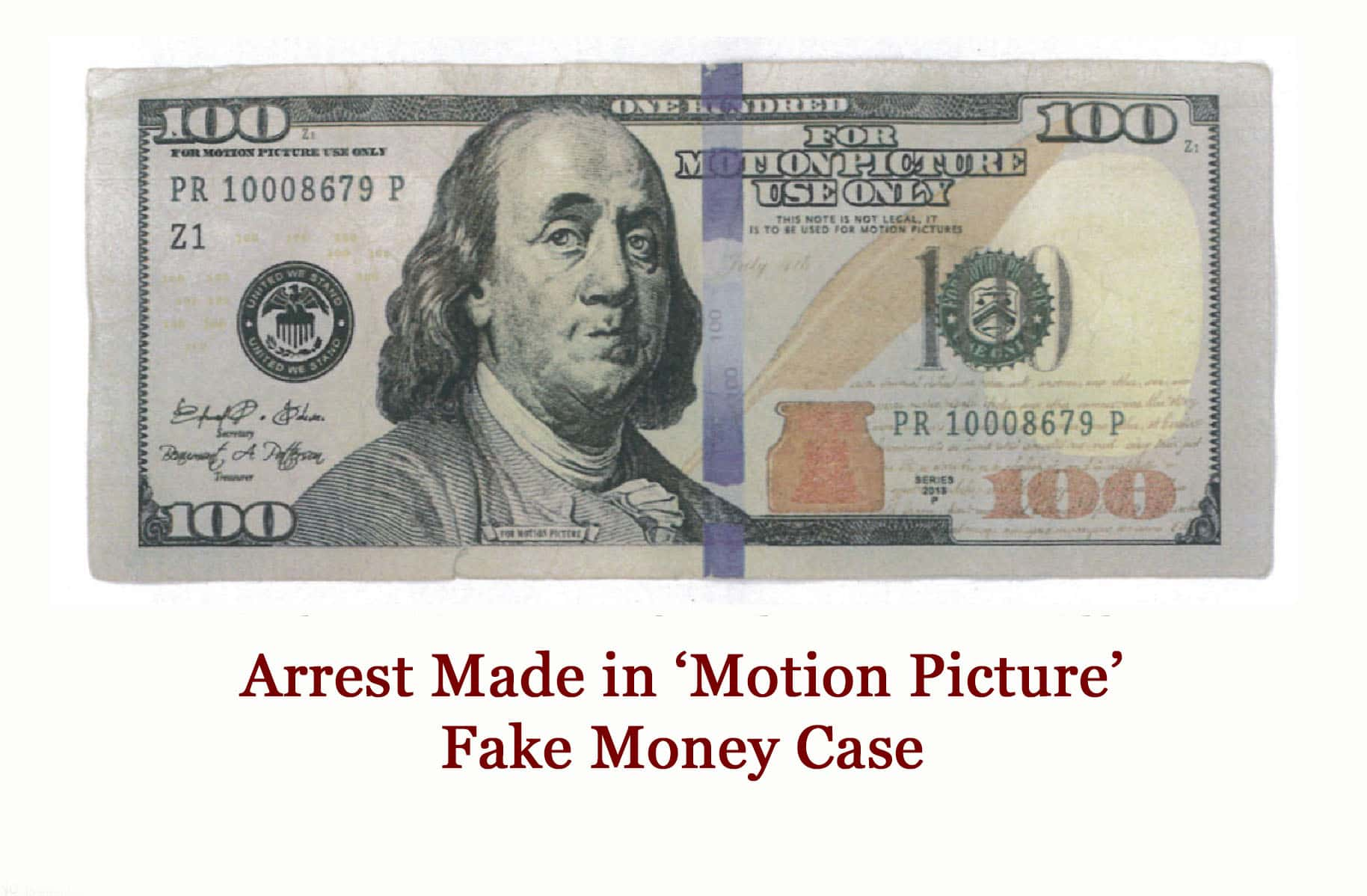 Arrest made in fake 39motion picture39 money case moody on the market for Fake money images