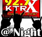 X at night on air copy