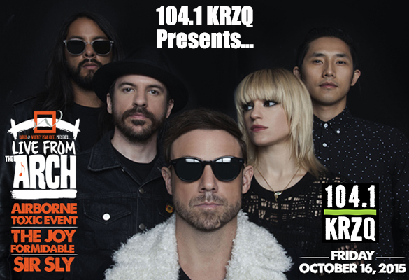 KRZQ Presents Live from the Arch with The Airborne Toxic Event