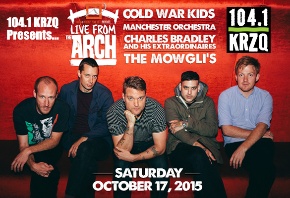 KRZQ presents Live from the Arch with Cold War Kids