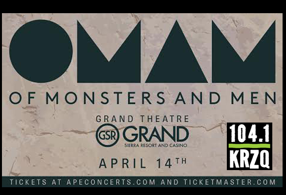 Of Monsters And Men 4/14 GSR