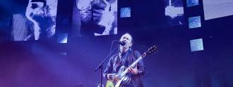 Thom Yorke and Radiohead performing in Paris May 23; David Wolff-Patrick/Redferns