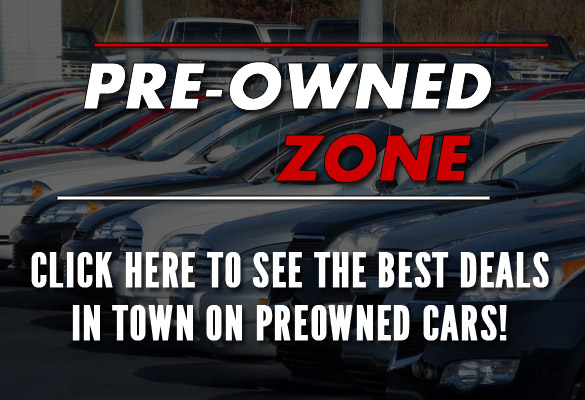 Pre Owned Zone Main Page