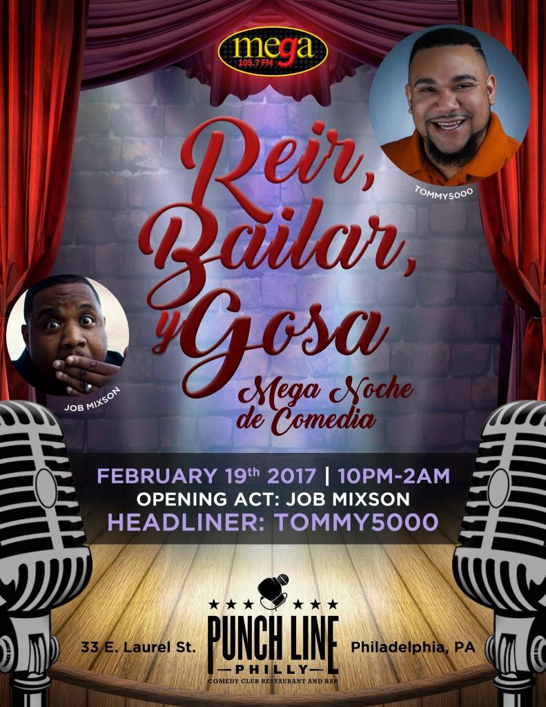 Mega Comedy Night