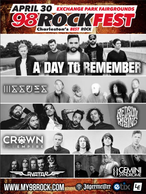 Rockfest Lineup