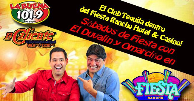 """Fiesta Rancho con Alex """"El Duvalin"""" y Omarciño"""