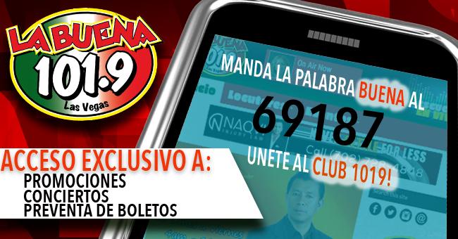 UNETE AL CLUB 1019