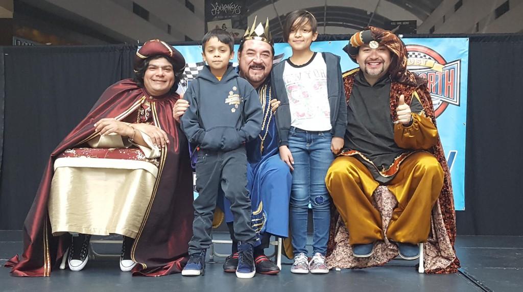 Fotos de Los Reyes Magos en el Boulevard Mall - 7 de Enero