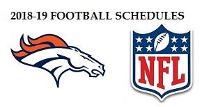 NFL/NCAA SCHEDULE