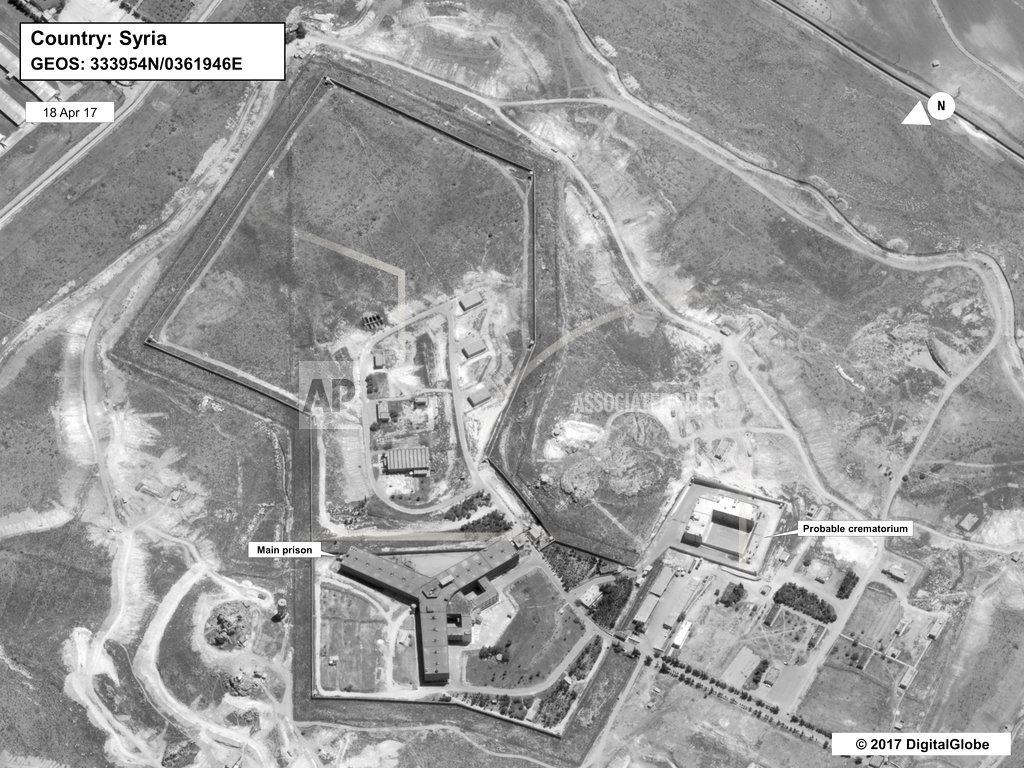 Syria denies presence of crematorium, calls it a 'Hollywood story'