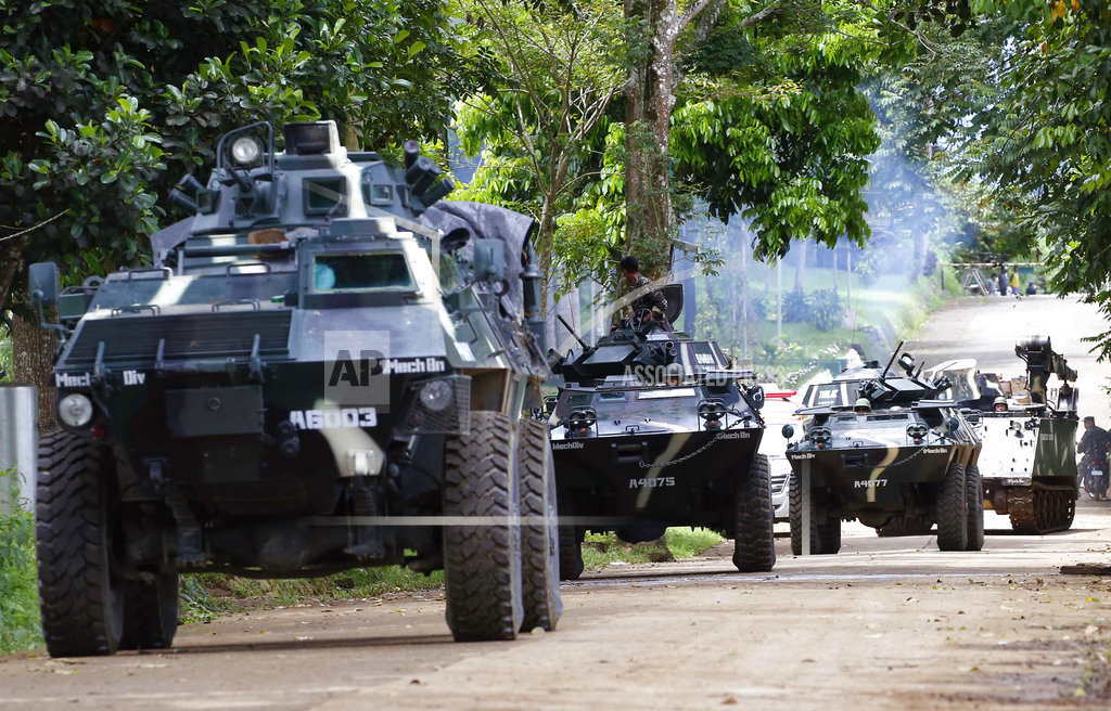 Philippines Launches Surgical Air Strikes to Flush Out Maute Group