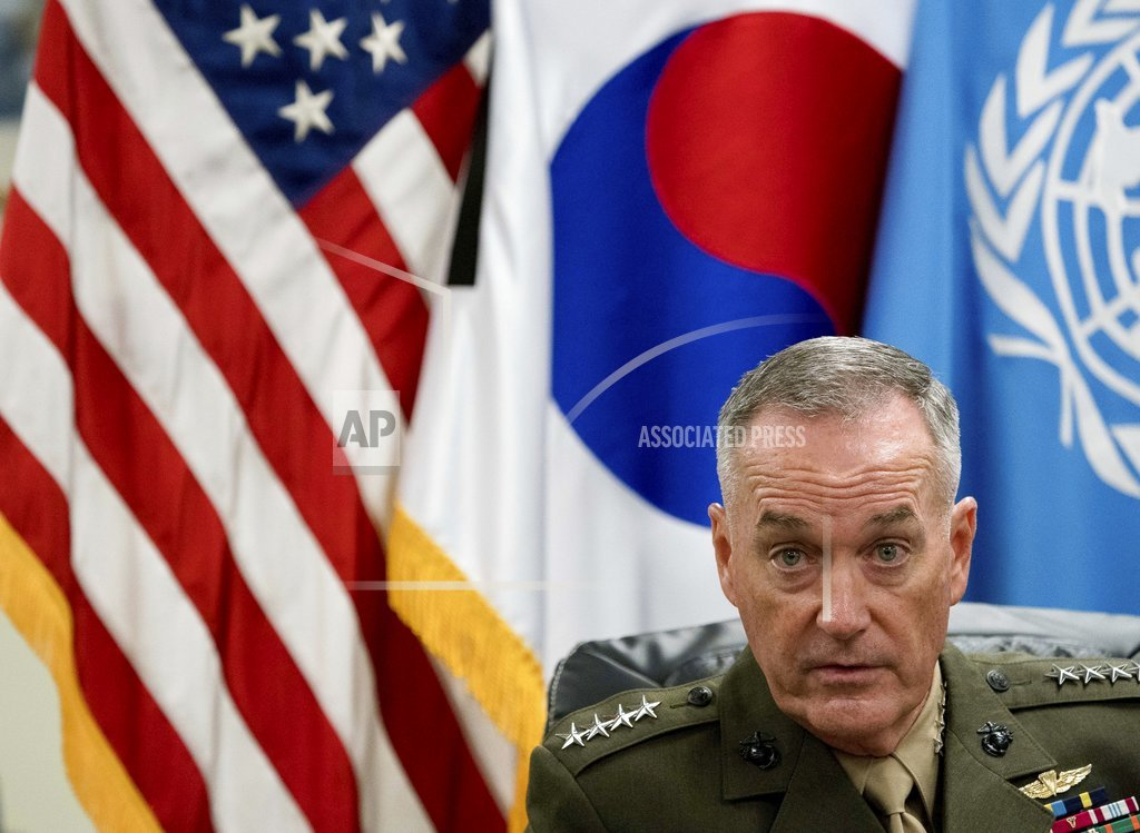 Top US military leader warns North Korea conflict would be 'horrific'