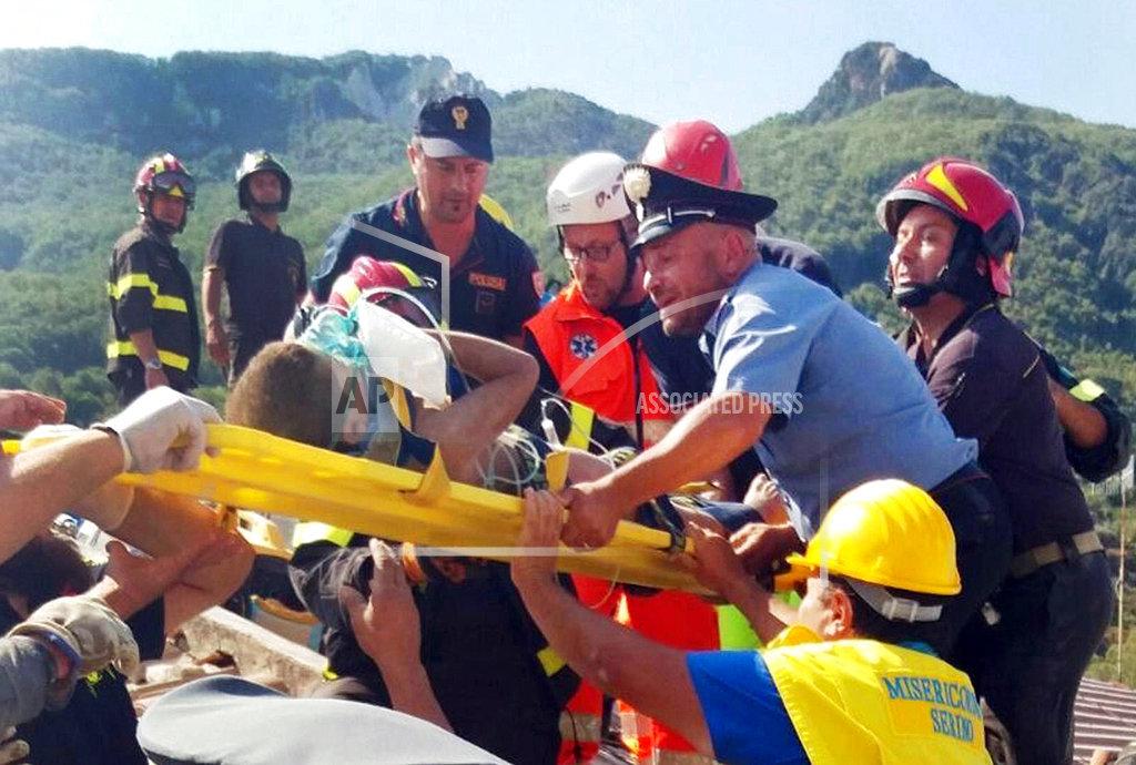 One killed as quake hits Italian island