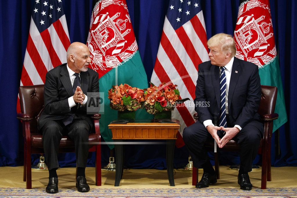 Afghan President Ashraf Ghani emphasizes terrorist threats, backs new USA strategy
