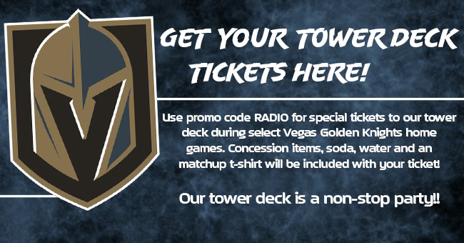 Get your tower deck tickets today!