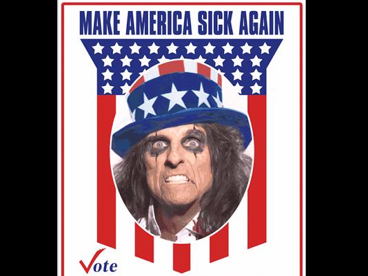 Elect Alice Cooper for President