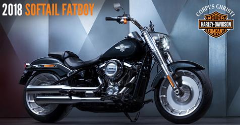 Win a 2018 Harley Fatboy!