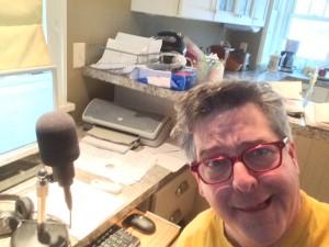 Fletch in his home studio