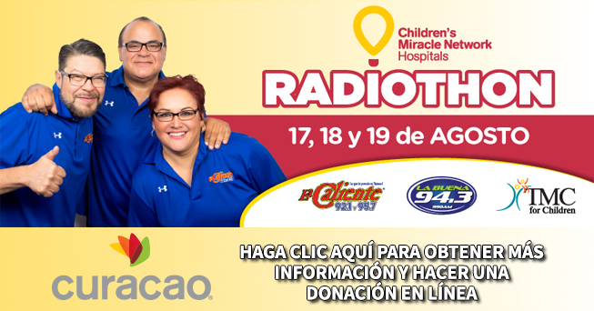 Children's Miracle Network August 17-19