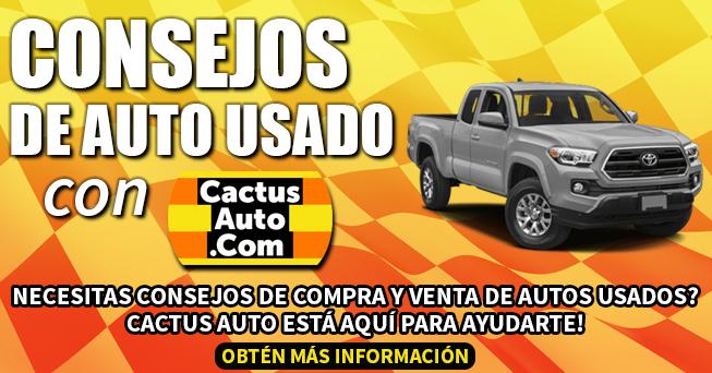 Consejos de auto usado con Cactus Auto