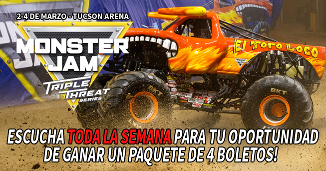 Monster Jam family 4-packs from all dayparts