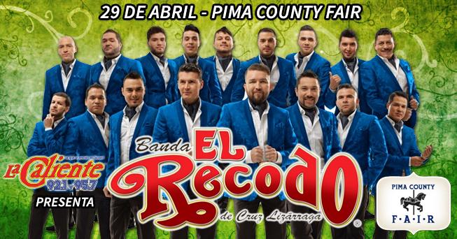 Banda El Recodo at the Pima County Fair