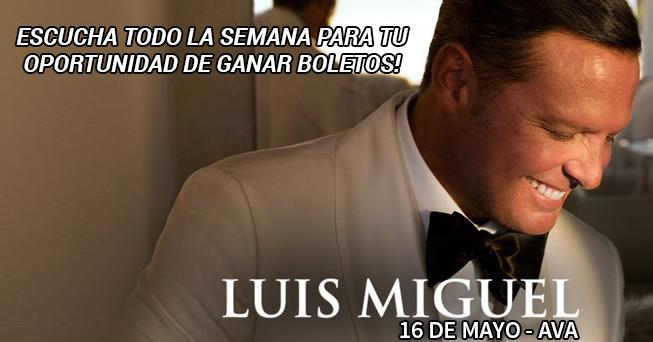 Luis Miguel tickets - all dayparts