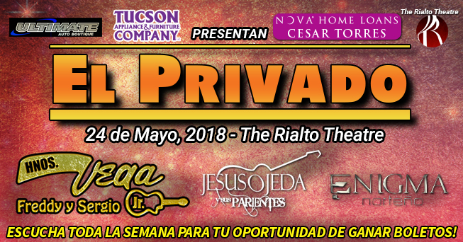 El Privado May 24 tickets - all dayparts