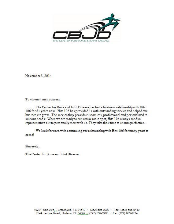 CBJD Testimonial Letter 11.3.2014