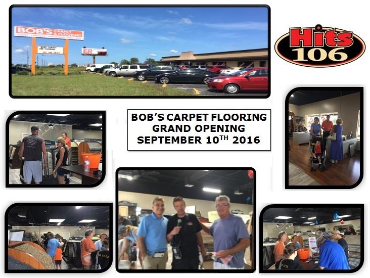 Bobs Carpet Flooring Grand Opening