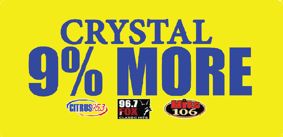 Crystal 9% More