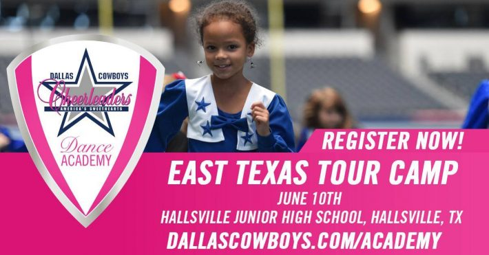 Dallas Cowboys Youth Football Camps Coming to East Texas This