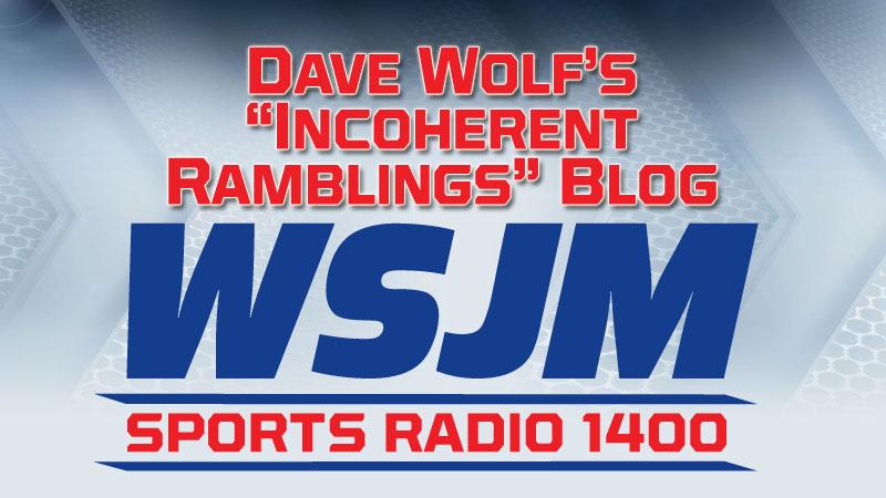Dave Wolf Blog