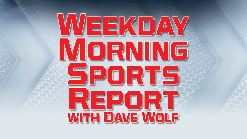 Weekday Morning Sports - Wednesday 4/25/18