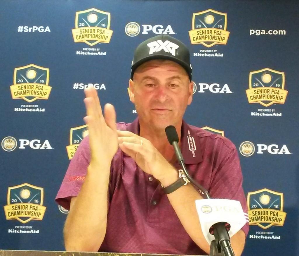 Rocco Mediate Wins Sr. PGA Championship