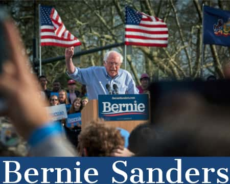 Bernie Sanders - An Adobe Spark stock royalty free image