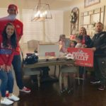 Former Bulldog and alumni family: Adam and his family, Fresno State at New Mexico, 12.12.2020