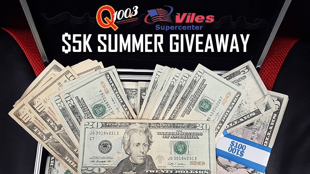 Vile's SuperCenter -Super Summer 5K Giveaway | Q100 3 Today's