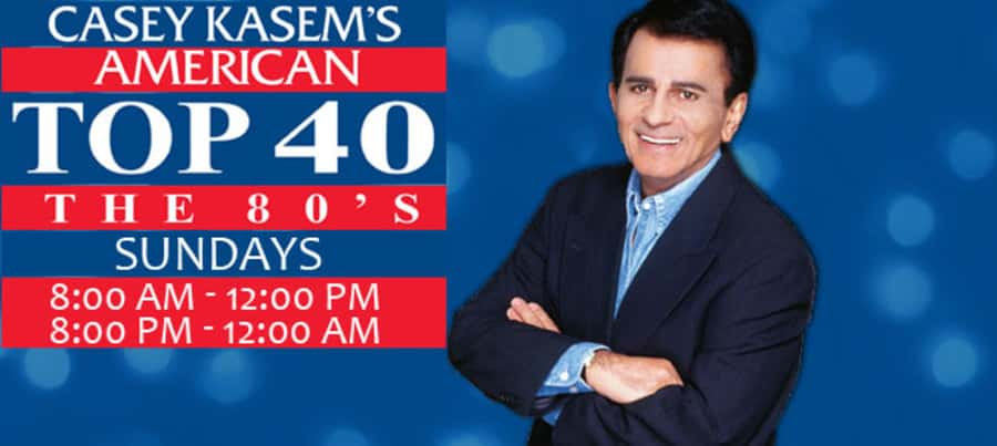 Casey Kasem's American Top 40 – The 80's! | 106 7 The River KRVI