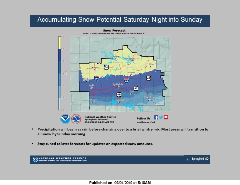 Winter Storm To Dump Accumulating Snow In The Ozarks | 106 7