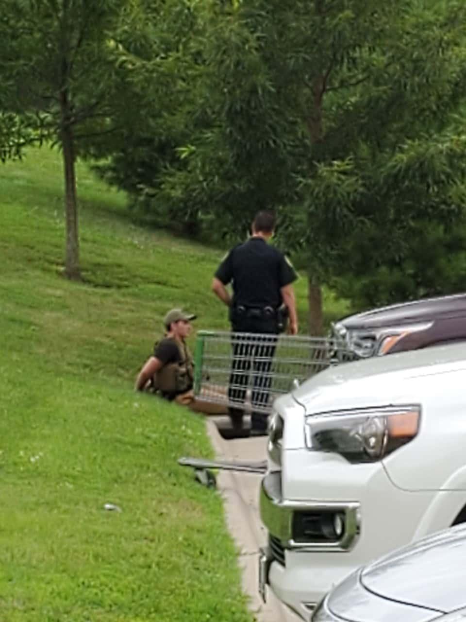 Heavily-Armed Gunman Terrifies Shoppers At Springfield