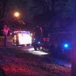 IMG_0661: Firefighters clean up after a house fire near Irving and Division in Springfield. Photo by KTTS News