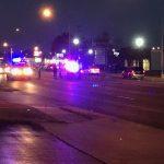 Springfield PD motorcycle crash Kansas Battlefield: A Springfield Police motorcycle rider was hurt in a crash at Kansas and Battlefield.