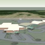 Cox-Monett-Rendering-1: Design for the new Cox Hospital in Monett