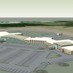 Cox-Monett-Rendering-2: Design for the new Cox Hospital in Monett